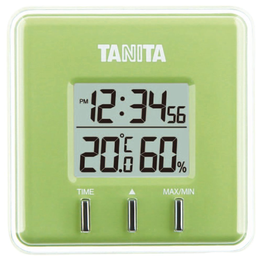 grande sconto Tanita Termoigrometro Digitale N N N verde tt-550-ngr  marchio in liquidazione