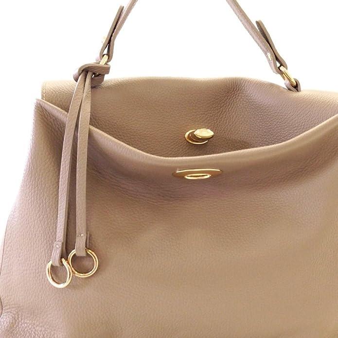 b62e471401c ELENA Italian Tote handbag shoulder purse soft grained leather  Handbags   Amazon.com