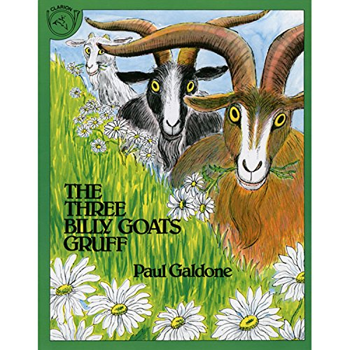 The Three Billy Goats Gruff Big Book (Paul Galdone Classics) -  Paperback