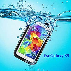 Deal4U 100% Waterproof Shockproof Gel Touch Screen Case Cover For Samsung Galaxy S5 SV i9600 G900S for Swimming Diving Support 8ft Deep #-# Color#=Pink