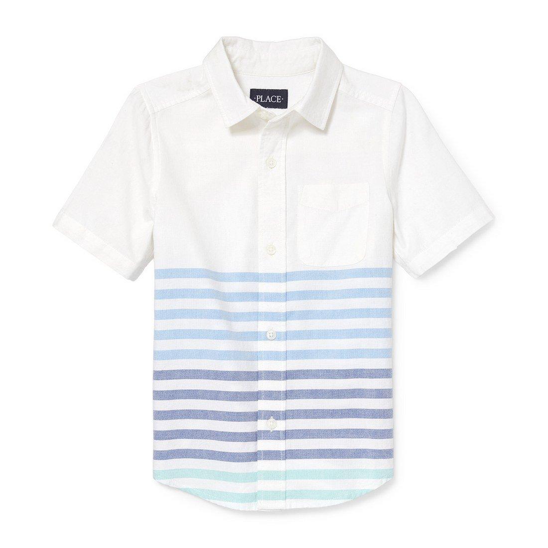 The Children's Place Boys' Short Sleeve Uniform Oxford Shirt, The Children' s Place