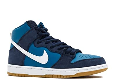 official photos 45535 61fc9 Image Unavailable. Image not available for. Colour  Nike Men s SB Zoom Dunk  High Pro Skate Shoe Obsidian Industrial Blue White Size