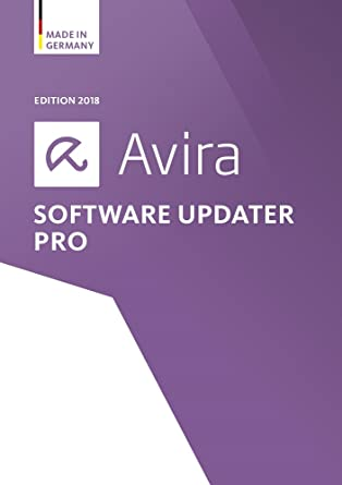 Avira Software Updater Pro Edition 2018 Software Update Manager