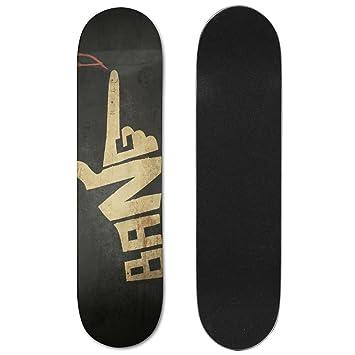 svvood skateboard deck bank instructions cool lightweight wooden graphic printed display 75 inch x 31 inch - Skateboard Deckbank