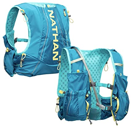 5f7690a1e6 Nathan Women's Hydration Pack/Running Vest - VaporAiress 7L Capacity with  2.0 L Water Bladder