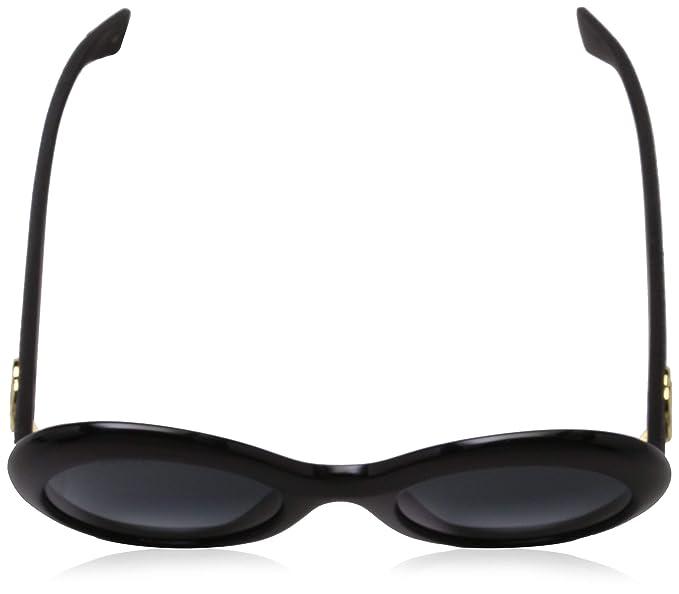 d5ef7d5b27d Amazon.com  Sunglasses Gucci GG 0101 S- 001 BLACK GREY  Clothing