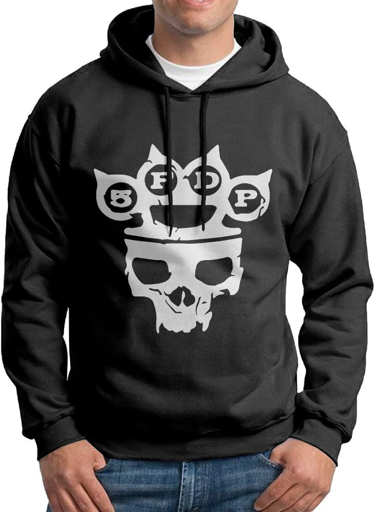 KPaIil Five Finger Death Punch Heavy Metal Pullover Hooded Men's Black Sweatshirt Hoodie