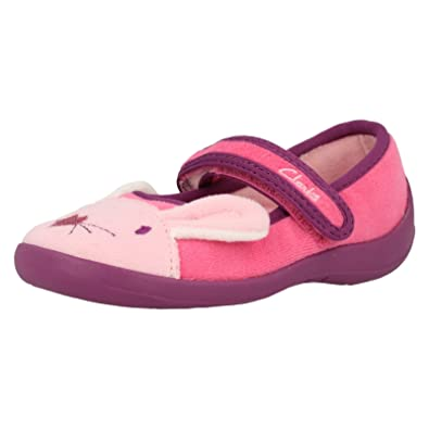 100% high quality really comfortable how to choose Clarks Hatter Sleep Girls Slippers