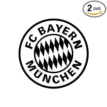 Amazon Fc Bayern Munich Waterproof Vinyl Decal Stickers Pair