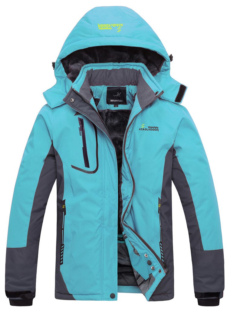 868df9aa2 Wantdo Women's Mountain Waterproof Ski Jacket Windproof Rain Jacket - BSA  Soar