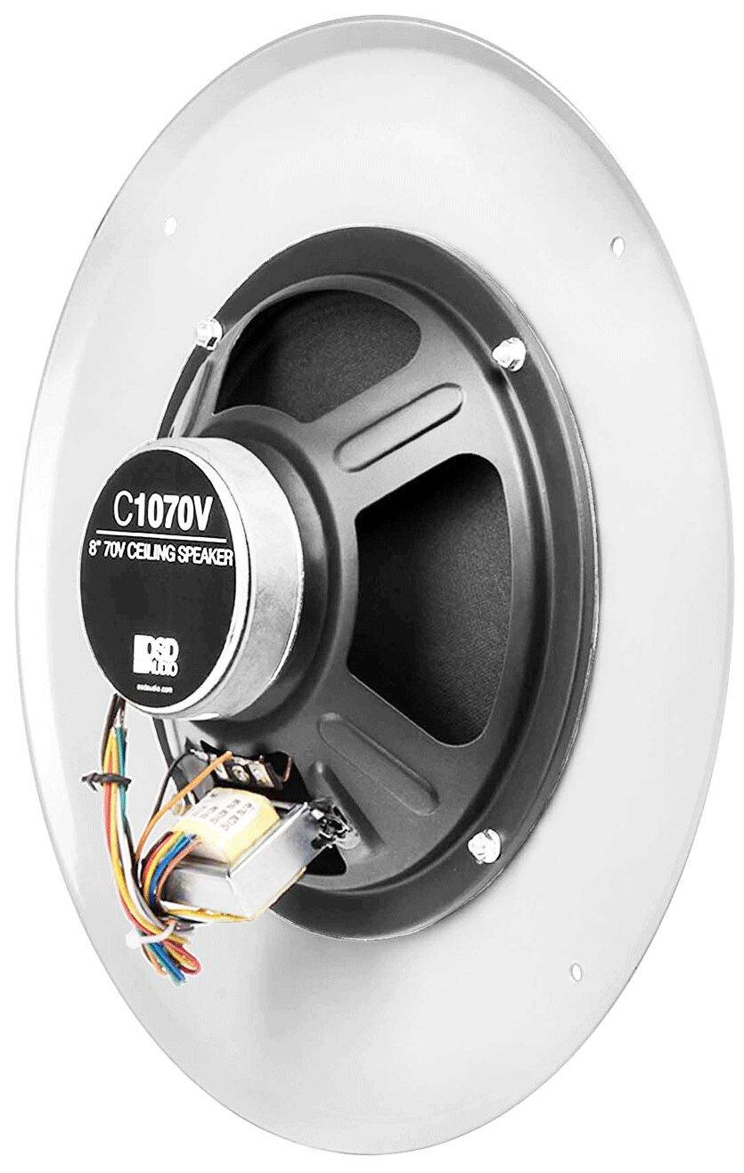 Osd C1070 8 70v Commercial In Ceiling Speaker Single Bogen Wiring Diagram White Home Audio Theater