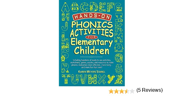 Amazon.com: Hands-On Phonics Activities for Elementary Children ...
