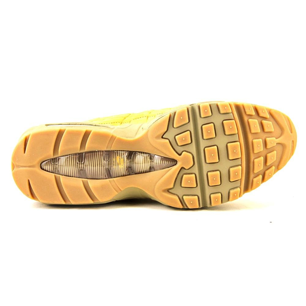 6358c8c74b Nike Mens Air Max 95 PRM Wheat Bronze/Baroque Brown-Bamboo Leather Size 11.  5: Buy Online at Low Prices in India - Amazon.in