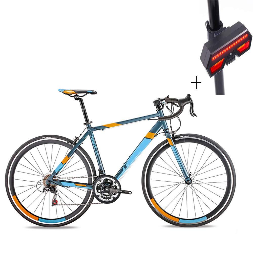 Huoduoduo バイク ロードバイク 21速700C アルミ合金ブレーキ、ノンスリップ耐摩耗タイヤ、ギフト自転車ウィンカー B07H1HW9XL
