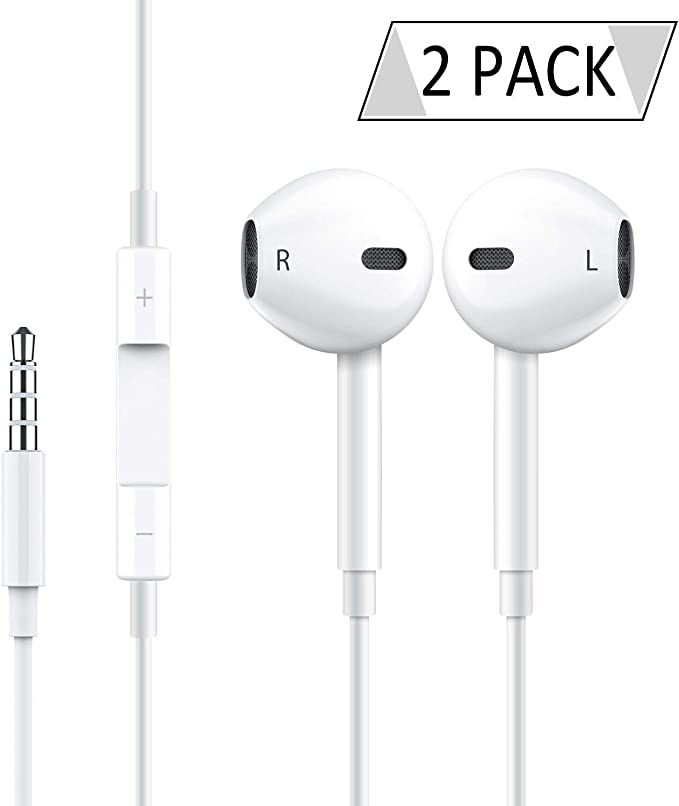 Pack 2 Auriculares [Blanco]: Amazon.es: Electrónica