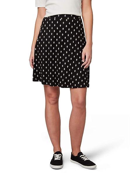 Tom Tailor - Falda de Punto para Mujer Black Diamond Design 38 ...
