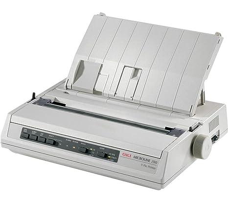 OKI ML 280 - Impresora Matricial Blanco y Negro: Amazon.es ...