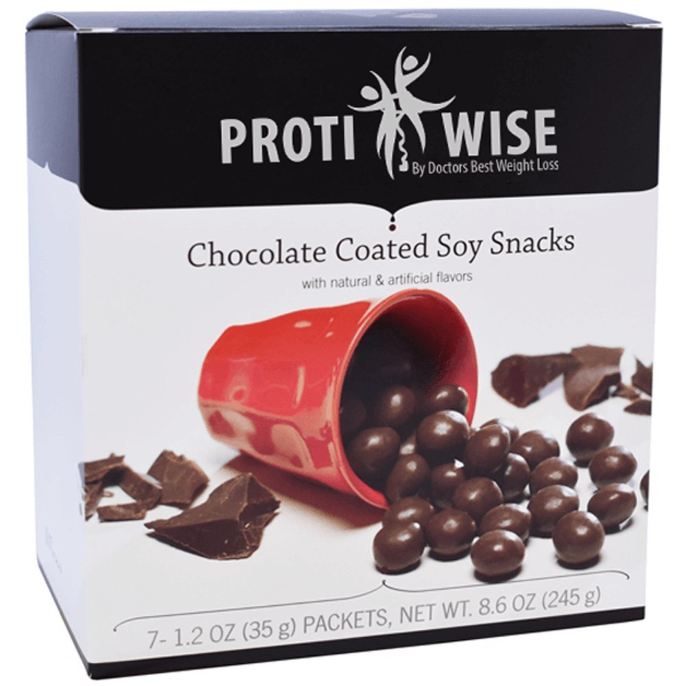 ProtiWise - High Protein Chocolate Soy Snacks