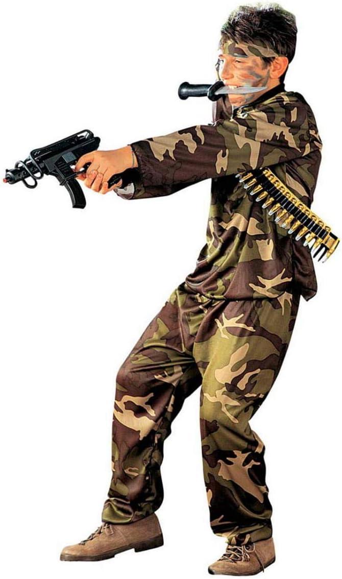 Horror-Shop Uniforme del Disfraz del Niño Soldado S: Amazon.es ...
