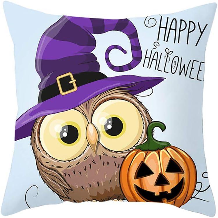 YWLINK Halloween Owl Series Funda De Almohada Nordic Sofa CojíN ...