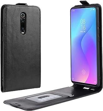 Phone Estuche Protector Crazy Horse Vertical Flip Leather for Xiaomi Redmi K20 / K20 Pro/Mi 9T / Mi 9T Pro (Negro) Duradero y fácil de Llevar (Color : Black): Amazon.es: Electrónica