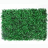 Jardimex Follaje Artificial Sintentico Muro Verde Pared Decoracion Casa Hogar Jardin Interiores Exteriores 10 Piezas Tamaño 60x40 cm Verde