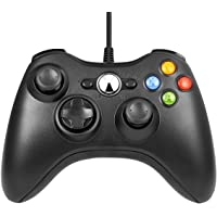 Xbox 360 Game Controller USB Wired 2.4GHZ Gamepad Joystick Joypad Controller for Microsoft Xbox 360 PC Windows 7, 8, 10…