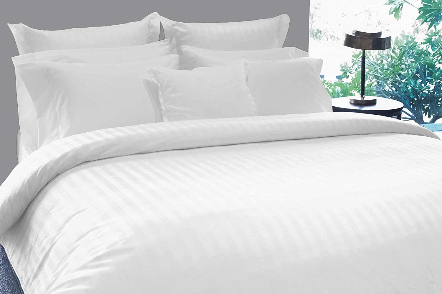 TRANQUIL NIGHTS - 500 Thread Count 100% Supima Cotton Bed Sheet Set
