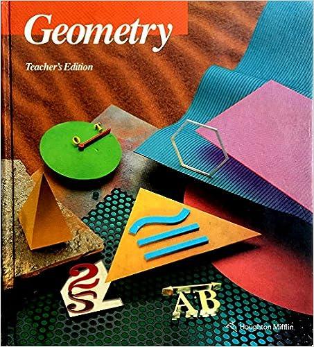 Amazon.com: Geometry, Teacher's Edition (9780395585405): Ray C ...