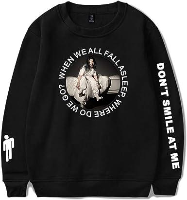 Hoodies Billie Eilish When We All Fall Asleep Where Do We Go Sweatshirt Billie