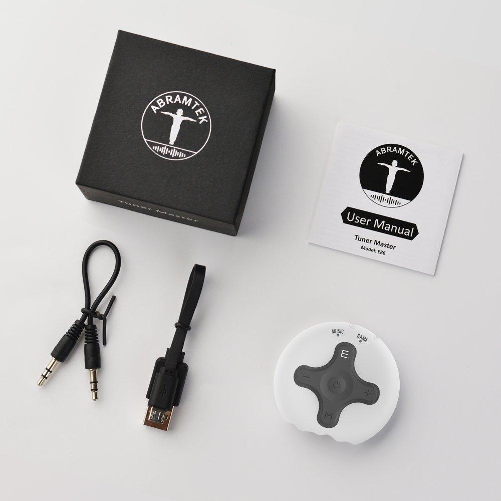 ABRAMTEK Bluetooth Receiver V4.2 Portable Wireless Audio Adapter Enhancer Headphone Amplifier Hands-Free Calling 3.5mm Stereo Jack Home Car Audio System by ABRAMTEK (Image #7)