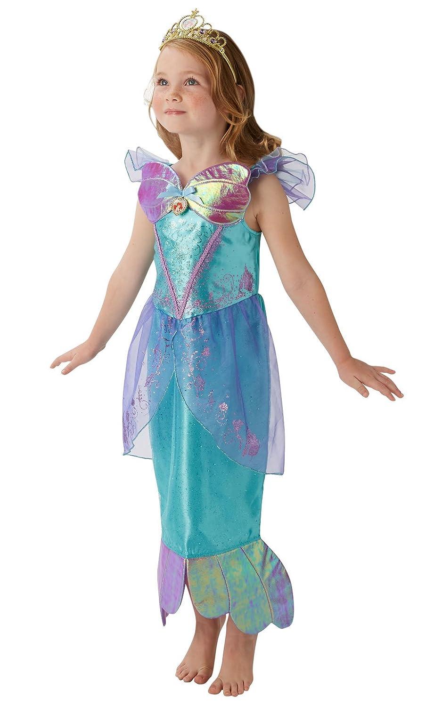 Rubies s Disney Princess Ariel sirenita Childs Deluxe disfraz: Amazon.es: Juguetes y juegos