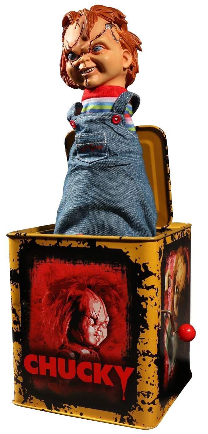 Mezco Chucky Burst a Box Standard Mezco Toyz