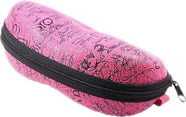 Desconocido Estuche para Lentes con Cremallera portátil Gafas Gafas de Sol Estuche Protector para Gafas de TheBigThumb, Rosa Fuerte: Amazon.es: Ropa y accesorios