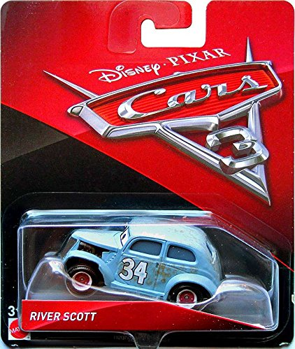 Amazon Com Disney Cars Pixar Die Cast River Scott Vehicle Toys Games