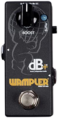 Wampler Decibel Plus V2 Boost & Independent Buffer Pedal