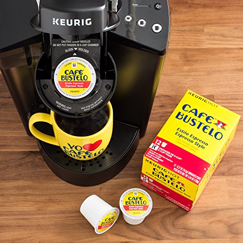 Café Bustelo Espresso Style K-Cup Pods for Keurig K-Cup Brewers 6 boxes of 12 (72 total) by Cafe Bustelo (Image #2)