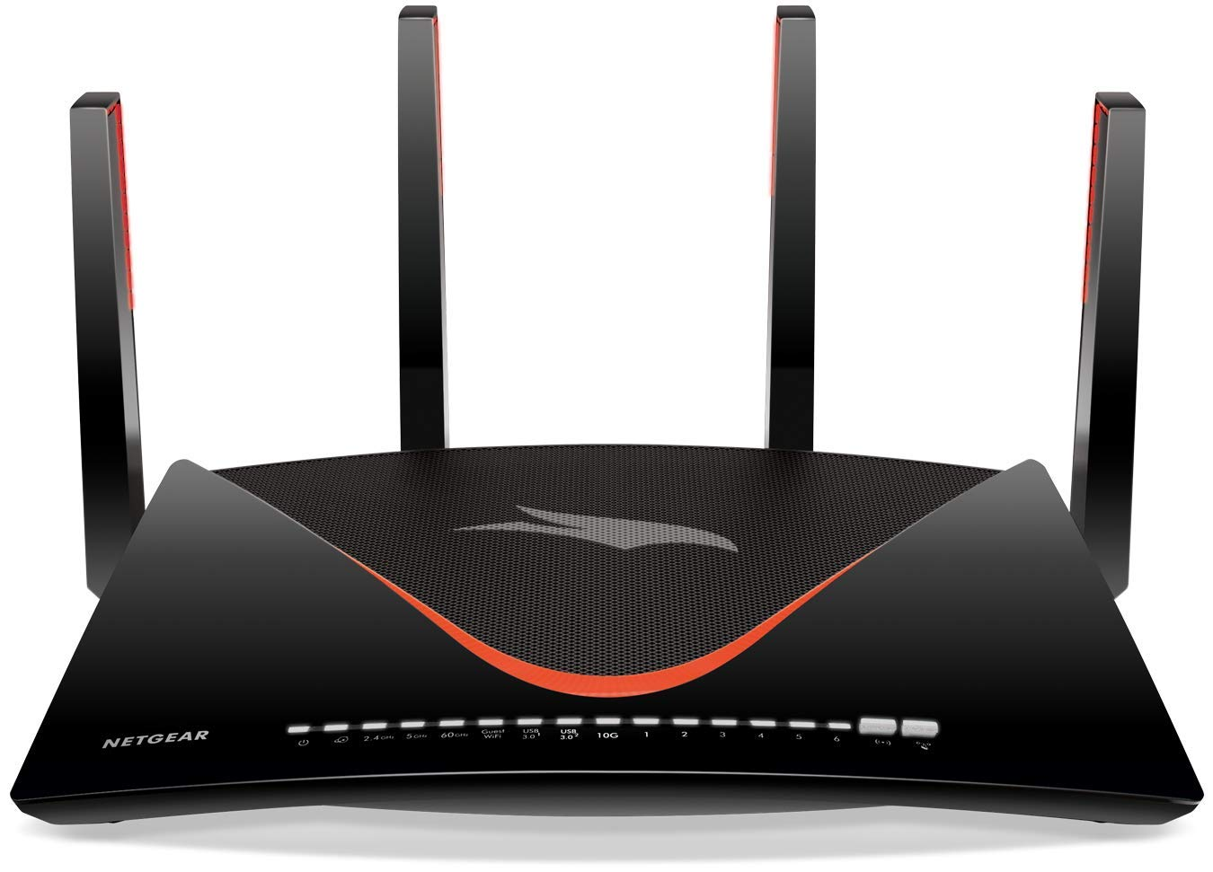 Netgear Nighthawk XR700-100EUS - Router WiFi Nighthawk Pro Gaming (AD7200 Dual-Band Quad Stream Gigabit, tablero Gaming, Geo Filter, Calidad del Servicio ...