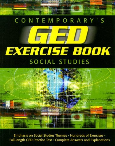 GED Exercise Book: Social Studies (GED Calculators)