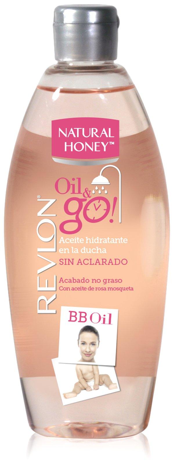 NATURAL HONEY 1018-37054 Revlon Oil Go - Aceite hidratante en la ducha sin aclarado