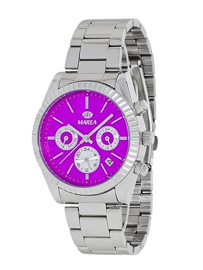 Reloj Marea Mujer B41155/2 Metálico Multifunción Rosa
