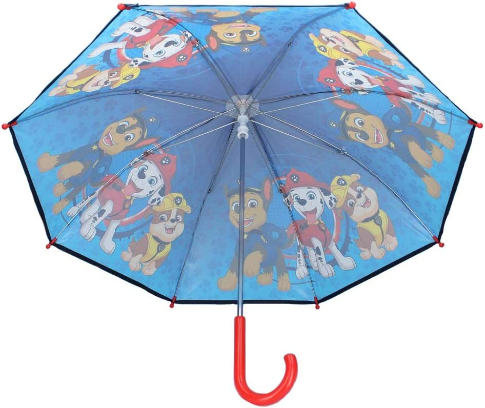 Paw Patrol Vadobag Parapluie Enfants Chase /& Marshall /& Rubble Pat Patrouille