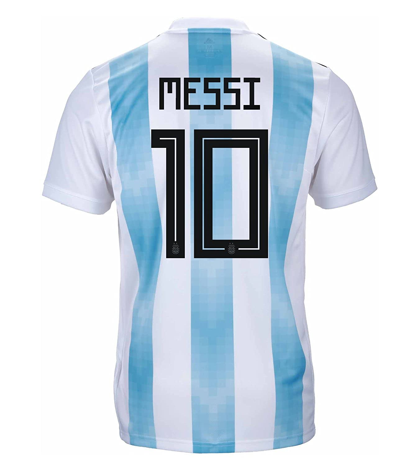 adidas Men's MESSI #10 Argentina Home Soccer Stadium Jersey World Cup Russia 2018/サッカーユニフォーム アルゼンチン ホーム用 メッシ B07DM5Y4Y8US Small
