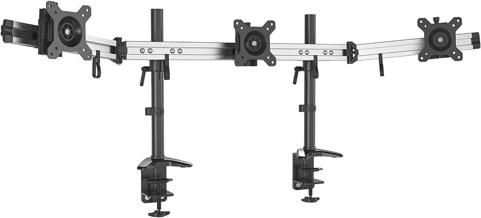 Hftek 3 Fach Monitorarm Tischhalterung Für 3 Computer Zubehör