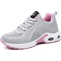 GAXmi Zapatillas Deportivas de Mujer Air Cordones Zapatos de Ligero Running Fitness Zapatillas de para Correr…
