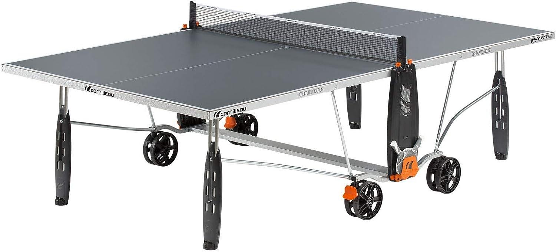 Cornilleau - Sport 150S - Mesa de Ping Pong para Exteriores, Color Gris