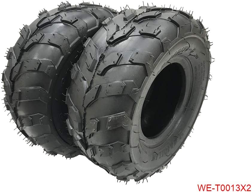 145//70-6 Tire with rim RIGHT SIDE 50 70 90 110cc Taotao Quad ATV Go-Kart 4 wheel