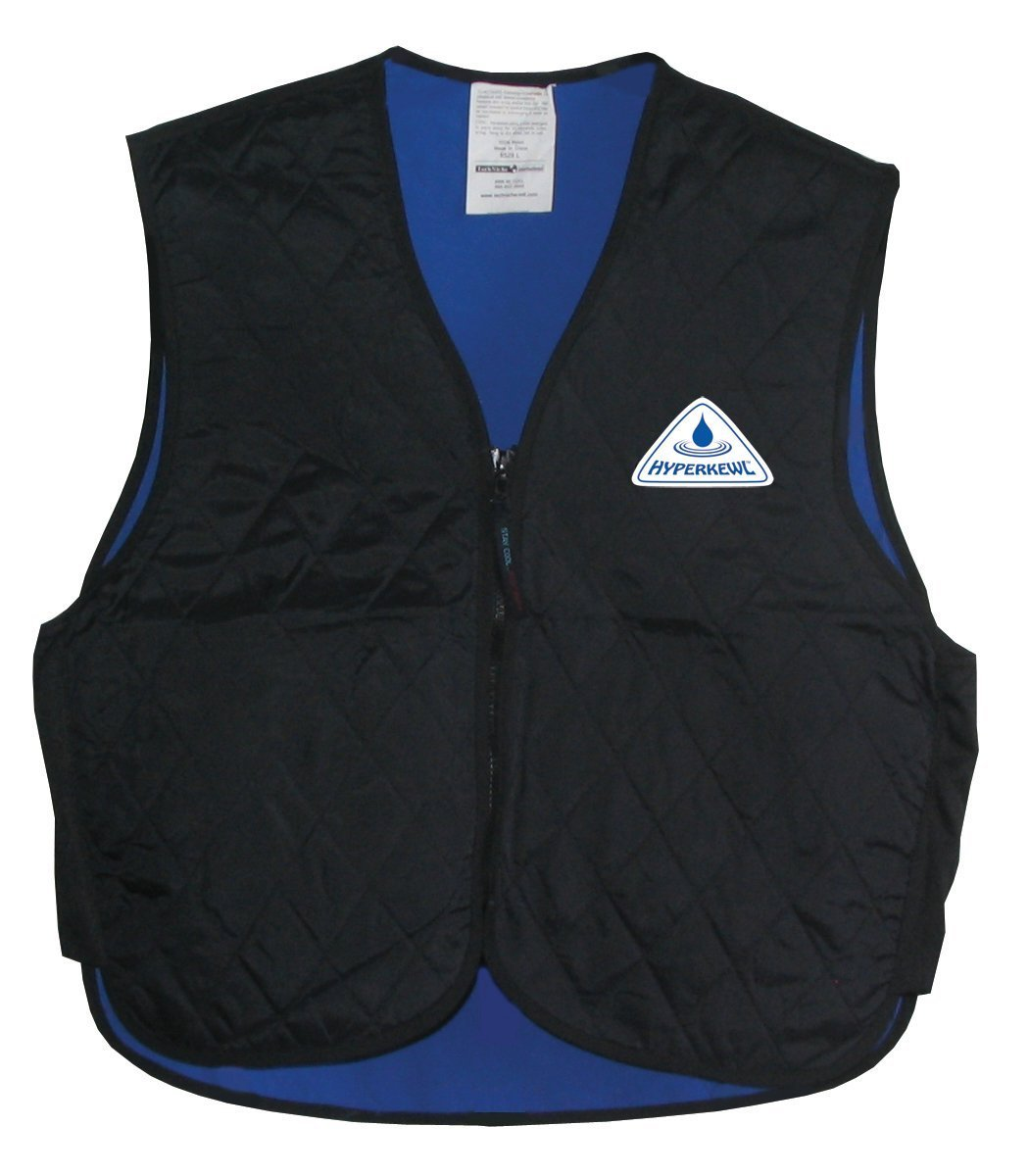 HyperKewl Cooling Sport Vest - Enhance your performance in the Heat! - -BLACK-SM