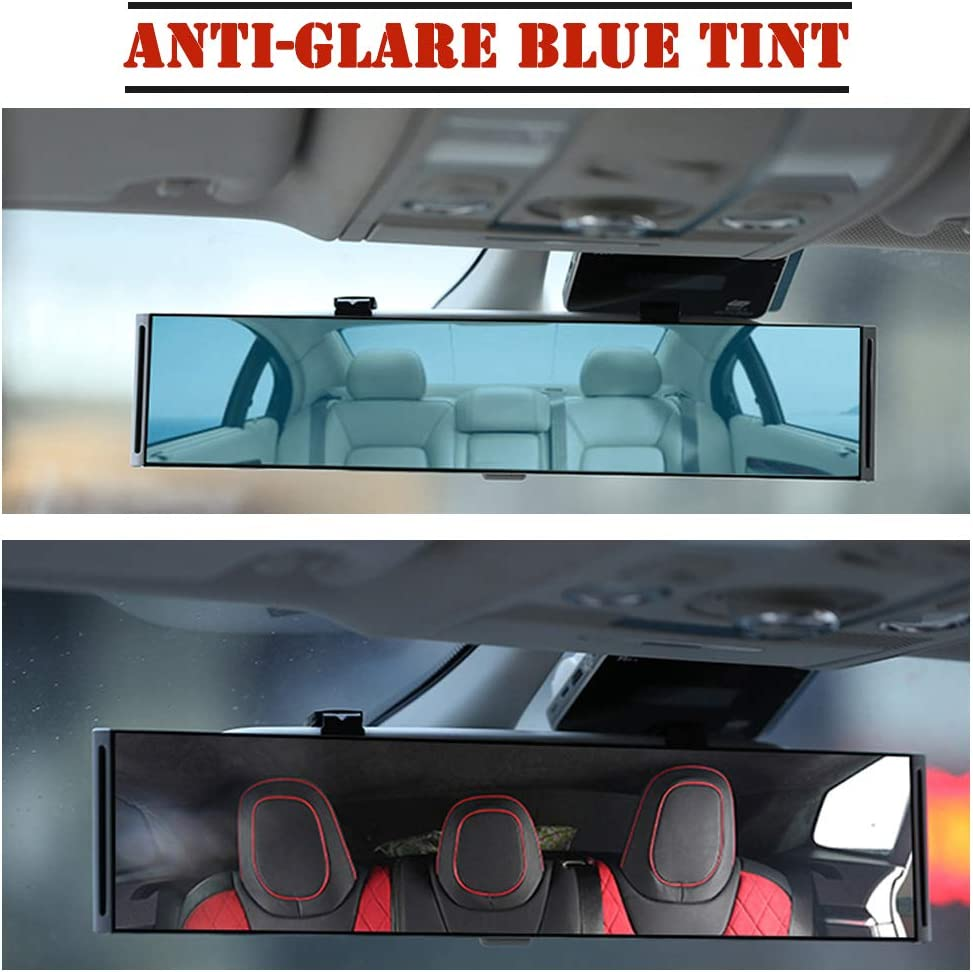 Interior Accessories Anti Glare Universal Blind Spot Mirror Set ...