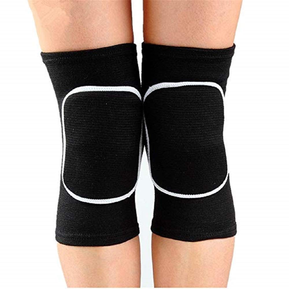 BabyPrice Kids Knee Pad, Anti-Slip Padded Sponge Knee Brace Breathable Flexible Elastic Knee Support for Football Volleyball Dance Skating Basketball Sports